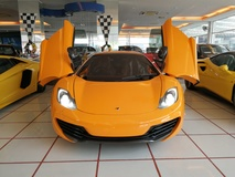 2013 MCLAREN MP4-12C UNREG