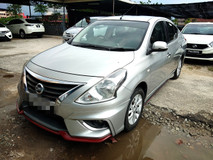 2015 NISSAN ALMERA 1.5 VL FULL Spec(AUTO)2015 Only 1 UNCLE Owner, 97K Mileage, TIPTOP, ACCIDENT-Free, DIRECT-Owner, with AIRBEG, DVD, GPS& REVERSE Cam