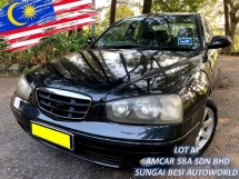 2002 HYUNDAI ELANTRA 1.8 AUTO 1 OWNER GOOD CONDITION BUDGET