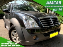 2006 SSANGYONG REXTON RX270 LUXURY (A) 1 OWNER SALE