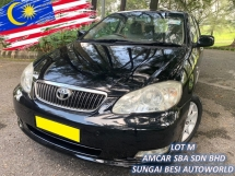 2008 TOYOTA ALTIS 1.8G NEW FACE LIFT (A) LEATHER 1 OWNER