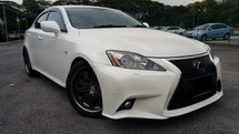 2007 LEXUS IS250 2.5 (AT) / PUSH START / SUN ROOF / PADDLE SHIFT / LEATHER SEAT / GOOD CONDITION /