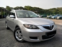 2009 MAZDA 3 1.6 (A) SEDAN WELL MAINTAINED 100% LOW MILEAGE TIPTOP CONDITION