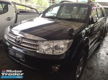 2010 TOYOTA FORTUNER 2.7 V FACELIFT, NOT SITE USE, FREE WARRANTY N MANY GIFTS  0% SST