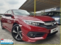2016 HONDA CIVIC 1.5 (A) TURBO 1 OWNER SUPER LOW MILEAGE FULL BODYKIT WARRANTY BY HONDA PROMOTION PRICE
