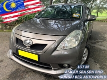 2014 NISSAN ALMERA 1.5 VL (NISMO) (A) LEATHER PUSH START 1 OWN
