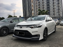 2018 TOYOTA VIOS 1.5 TRD SPORTIVO (A) FULL SERVICE RECORD ** WARRANTY STILL AVAILABLE ** EXCELLENT CONDITION ** SPECIAL PROMOTION **