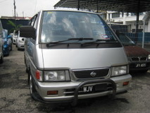 2002 NISSAN VANETTE WINDOW VAN 1.5 (M) WITH NGV GAS AND COMFORT REAR SEAT