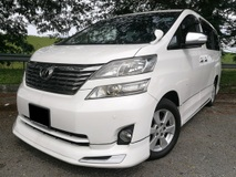 2010 TOYOTA VELLFIRE 3.5V L EDITION (AT) / 2 POWER DOOR / POWER BOOT / TIP TOP CONDITION / CAREFUL OWNER !!