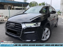2018 AUDI Q3 S LINE Demo Car Full Service Record Under Warranty