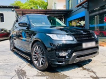 2017 LAND ROVER RANGE ROVER SPORT AUTOBIOGRAPHY DYNAMIC 5.0 V8 SUPERCHARGED / 7 SEATER