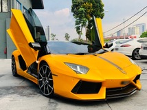 2012 LAMBORGHINI AVENTADOR LP700-4 WITH MANY EXTRAS