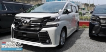 2015 TOYOTA VELLFIRE ZA/ SUNROOF / JBL HOME THEATHER / READY STOCK /6A CONDITION