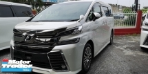 2015 TOYOTA VELLFIRE ZG 2.5 PILOT SEATS/SUNROOF/READY STOCK/FREE 4 YERAS WARRANTY