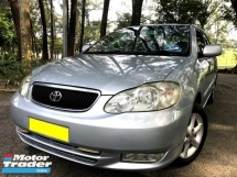 2003 TOYOTA ALTIS 1.8G AUTO 1 OWNER BELOW MARKET