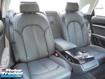 2015 AUDI A8 4.0 L TFSI Quattro V8 Twin-Turbo AWD 8-Speed MMI NAVI ReverseCamera Facelift Luxury LikeNEW