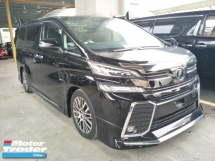 2017 TOYOTA VELLFIRE 2.5 ZG MODELISTA BODYKIT SUNROOF 360 VIEW CAMERA POWER BOOT