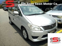 2014 TOYOTA INNOVA 2.0 E FULL Spec(AUTO)2014 Only 1 UNCLE Owner, 51K Mileage, TIPTOP, ACCIDENT-Free, DIRECT-Owner,wit 2 AIRBEG & TOYOTA Service Record