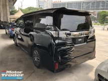 2016 TOYOTA VELLFIRE Unreg Toyota Vellfire ZG 2.5 Pilot 7seats 360view 2PD PowerBoot Keyless 7G