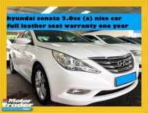 2010 HYUNDAI SONATA 2.0CC  (A) FULL LEATHER SEATS NICE CAR WARRANTY ONE YEAR