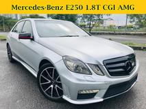 2010 MERCEDES-BENZ E-CLASS E250 1.8 (A) CGI Convert AMG E63 KIT KEYLESS PUSH START
