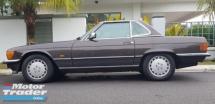1987 MERCEDES-BENZ SL 420SL 4.2 CLASSIC LOWEST PRODUCTION UNIT