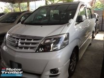2006 TOYOTA ALPHARD 3.0 MS FACELIFT HOME THEATER SOUND SYSTEM REG 2011