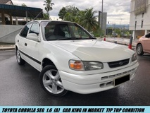 1998 TOYOTA COROLLA SE LIMITED G TIP TOP CONDITION