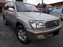 2005 TOYOTA LAND CRUISER ZX 60TH BLACK LEATHER SELECTION