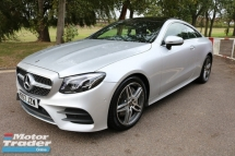 2017 MERCEDES-BENZ E-CLASS E300 COUPE 2.0 AMG PREMIUM PLUS/FULLY LOADED SPEC/6A CONDITION/6000KM MILEGE / READY STOCK