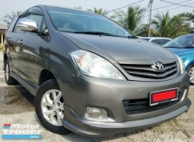 2011 TOYOTA INNOVA  G SPEC FACELIFT LEATHER SEAT