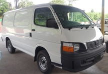 2002 TOYOTA HIACE 2.5 DIESEL PANEL VAN MUST VIEW