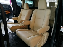 2016 TOYOTA VELLFIRE 2.5 LIMITED X SPEC 7 SEATER FULL BEIGE LEATHER CHEAPEST IN MARKET UNREG 16