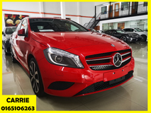 2014 MERCEDES-BENZ A-CLASS A180 EXCLUSIVE WITH TWO TONE -UNREG-