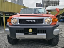 2014 TOYOTA FJ CRUISER TOYOTA FJ CRUISER 4 X 4 KING OF FOUR WHEEL DRIVE UNREG 14