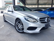 2014 MERCEDES-BENZ E-CLASS 2014 Mercedes E250 AMG Japan Spec Demo Car Radar System  L & R Memory Seat Unregister for sale
