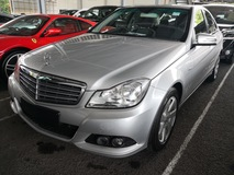 2012 MERCEDES-BENZ C-CLASS C180/7 SPEED /UNREG