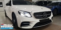 2017 MERCEDES-BENZ E-CLASS E43 AMG 3.0V6 BITURBO 4MATIC PREMIUM PLUS / READY STOCK