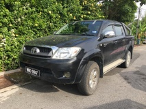 2008 TOYOTA HILUX DOUBLE CAB 2.5G (AT)