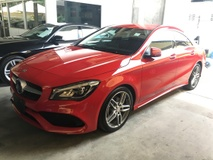 2017 MERCEDES-BENZ CLA 2017 Mercedes-Benz CLA200 CLA180 1.6 AMG Coupe FACELIFT CAMERA P-CRS NEW CAR CONTITION