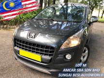 2011 PEUGEOT 3008 1.6 THP AUTO PANORAMIC FULL LOAN