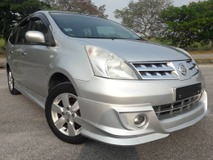 2010 NISSAN LIVINA 1.8 AUTO CARKING (ONE DAY APPROVAL T & C APPLY)