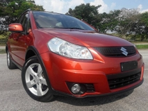 2012 SUZUKI SX4 1.6 HATCHBACK CARKING LIKE NEW ONE OWNER (ONE DAY APPROVAL T & C)