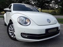 2013 VOLKSWAGEN BEETLE 1.2 LADY OWNER PROMOTION ( ONE DAY APPROVAL T & C APPLY )