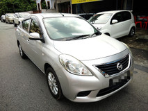2012 NISSAN ALMERA 1.5 FULL Spec(AUTO)2012 Only 1 LADY Owner, 51K Mileage, TIPTOP, ACCIDENT-Free, DIRECT-Owner, with AIRBEG, DVD, GPS& REVERSE Cam
