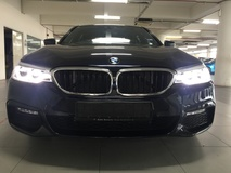 2018 BMW 5 SERIES 530I M-SPORT with Genuine Low Mileage
