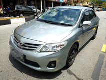 2012 TOYOTA COROLLA ALTIS 1.8 FULL Spec(AUTO)2012 Only 1 UNCLE Owner, 68K Milege, TIPTOP,ACCIDENT-Free, DIRECT-Own, LEATHER Seat, DVD,GPS& REVERSE Cam