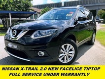 2017 NISSAN X-TRAIL 2.0L FULL SERVICE UNDER WARRANTLY TIPTOP CONDITION