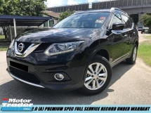 2017 NISSAN X-TRAIL 2.0L X-CVT DEMO CAR LOW MILEAGE UNDER WARRANTY