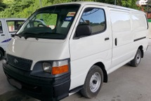 2001 TOYOTA HIACE PANEL VAN MUST VIEW